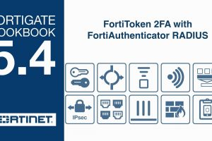 FortiGate Cookbook – FortiToken 2FA with FortiAuthenticator RADIUS (5.4)