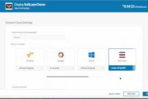 Cisco CloudCenter SoftLayer Demo