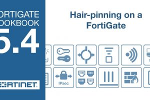 FortiGate Cookbook – FortiGate Hair-pinning (5.4)