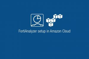 Setup of FortiAnalyzer in Amazon Cloud