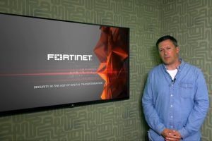 Ed Amoroso Speaking About Fortinet's Fast and Secure Event in Dallas