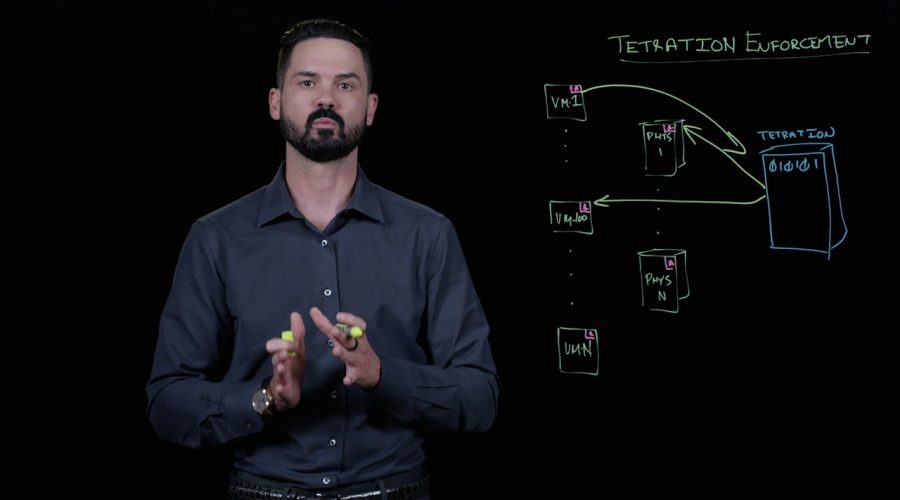 Cisco Tetration: Security Policy Enforcement