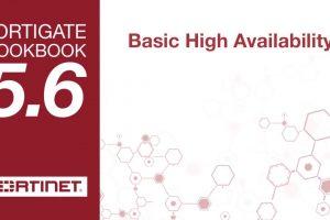 FortiGate Cookbook – High Availability Setup (5.6)