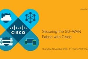 #CiscoChat: Securing the SD-WAN Fabric with Cisco