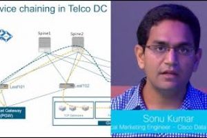 Demo: Multi-node Service Chaining in Telecom Data Centers Made Simple