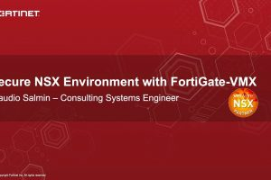 Secure NSX Environment with FortiGate VMX