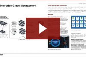 Enterprise Grade Management – FortiManager | Network Security