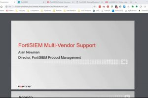 FortiSIEM Multi-Vendor Support | SIEM – Network Security Information and Event Management Solution