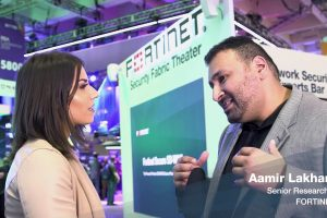 FortiGuard Labs' Aamir Lakhani Interview from RSAC 2019 | Cybersecurity Threat Landscape