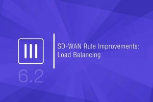 SD-WAN Rule Improvement: Load Balancing