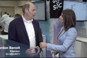 Interview with Gordon Benoit of D3 Security | Fortinet Accelerate 2019