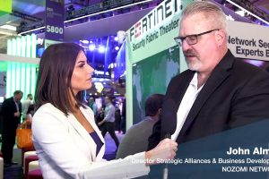 Interview with John Almlof of Nozomi Networks | RSAC 2019