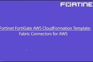 FortiGate CloudFormation Template and Demo | Fabric Connectors for AWS