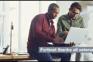 Thanking Our Veterans   Fortinet FortiVet Program