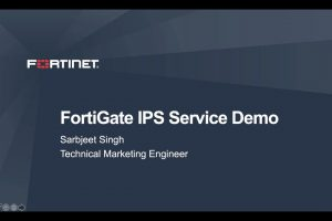 FortiGate IPS Demo | Intrusion Prevention System Demo