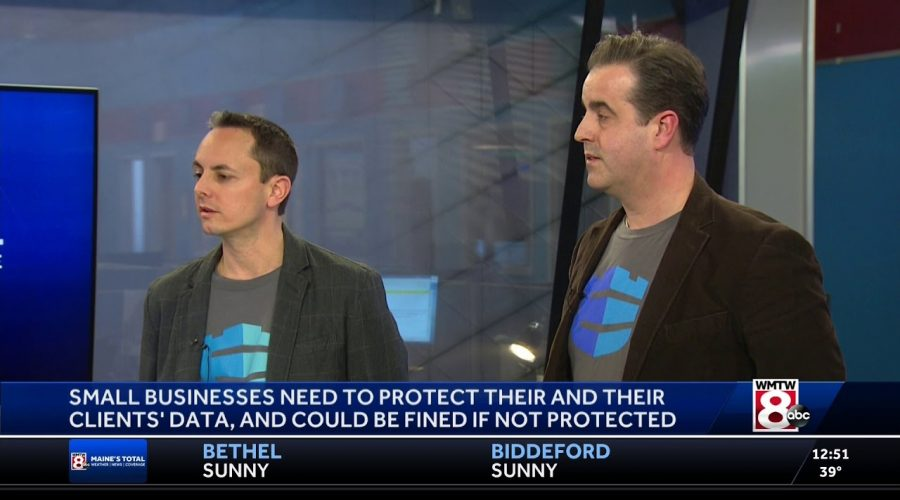 Cybersecurity for Small Businesses – WMTW Interview