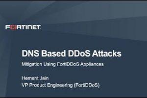 Mitigating DNS based DDoS attacks using FortiDDoS | DDoS Cybersecurity
