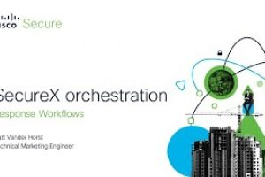SecureX orchestration – Response Workflows