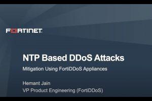 Mitigating NTP based DDoS attacks using FortiDDoS | DDoS Cybersecurity