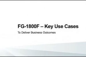 Keep Operations Running with Secured Data Centers Powered by Fortinet's NP7 & FortiGate 1800F