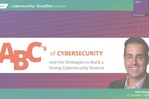 ABCs of Cybersecurity and Strategies to Build a Strong Cybersecurity Posture